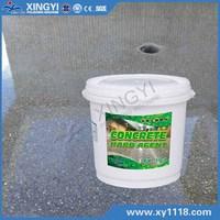concrete floor hardened agent