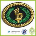 2015 venda hot Custom bordado uniforme do exército insignia