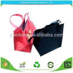 high quality aluminium foil cooler bag/small insulated cooler bag with zipper