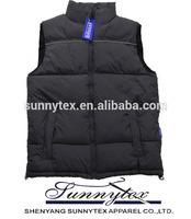 SUNNYTEX 2015 multi-pockets clothes casual autumn outdoor wholesale men's vests waistcoats