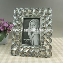 Wholesale Antique silver glitter beautiful 10x15 photo frame