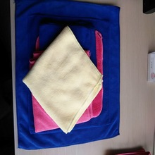 bulk microfiber cleaning cloth, kitchen /car/ widow cleaning towel