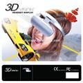 La cabeza- montado en juego/películas de realidad virtual 3d vasos