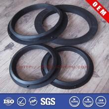 Custom made silicone nr viton rubber pvc pipe gasket