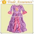 fábrica de la venta dsn vestido de rapunzel
