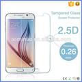 trend sıcak ürünler temperli cam ekran filmi mavi korumak samgsung için galaxy s6 cep telefonu aksesuarları
