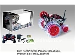 Novelty-7ch Rotating stunt car/stunt rc car