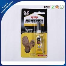 Russia Market 3g Super Glue For Shoes repairing