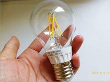 360 degree warm cool white 4w 5w 6w 8w E27 E26 triac dimmable 110v 220v LED filament A60 A19 bulbs