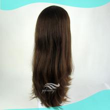 High Quality Unprocessed European Human Hair Jewish Wig Band Fall