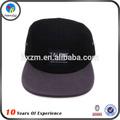 شقة حافة قبعة سوداء مخصصة 5 لوحة