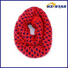 HZW-13774004 Jacquard Style Dot Wonder Yiwu Fashion cheap neck warmer knit best-selling Yiwu Gorgeous Scarf