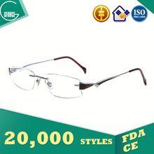 18K Gold Optical Frame, rhinestone eyeglass chain, best buy eyewear