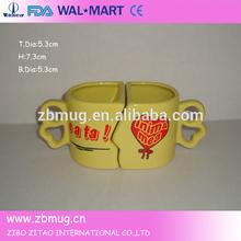 Beautiful cute couple coffee mugs for lovers