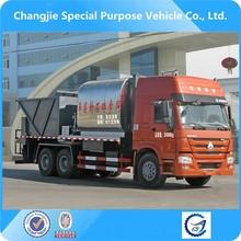 factory sale rubber asphalt synchronous chip sealer,bitumen chip sealer
