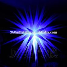 Custom new design 72-points inflatable handing lighting star(BMLD313)