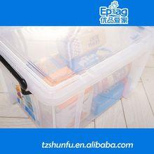 2015 llevan a cabo envase de alimento, Venta al por mayor biodegradable recipiente de plástico para cosméticos, Plegable de plástico contenedores