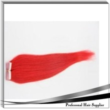 2015 cheap synthetic tape hair extension from manufacturer