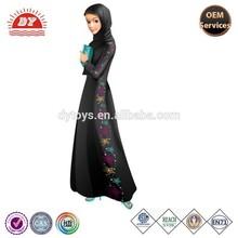 ICTI Factory Plastic Muslim Girl Ramadan Fulla Doll