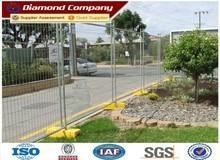 temporary steel construction fence,retractable temporary fence,temporary fence base