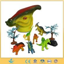 dinosaur head big dinosaur toy many sets of dinosaur
