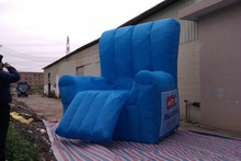 Factory price 4mH big inflatable sofa chair