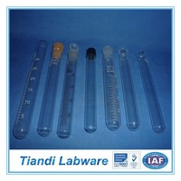 Clear Laboratory Test Tube