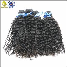 Double machine weft vigin hair unprocessed brazilian hair, brazilian weave hair styles