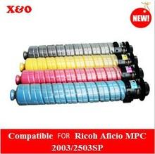 compatible for Ricoh MP C4503 toner cartridge use in ricoh aficio MP C4503/C5503/C6003 Copier