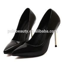 China shoes factory 2015 ladies dress shoes fashion high heels PE3392