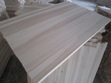 paulownia edge glued jointed wood board for furnitures snowboard