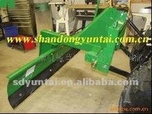 rear mounted grader blade