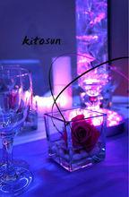 Table decoration multi-colors 6inch LED light Replaceable batteries