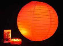Street decoration LED hang hook all sizes paper lanterns