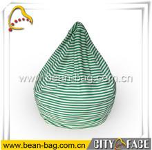 indoor bean bag waterdrop shaped bean bag cotton bean bag