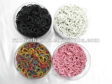 2012 red color natural vienam rubber bands fingers