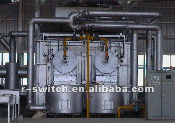 De China proveedor de horno de inducción de bobinas