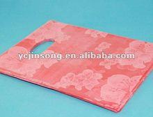 opp plastic bag hole,die cut bag