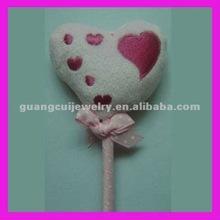 fashion plush heart medical promotional gift pen