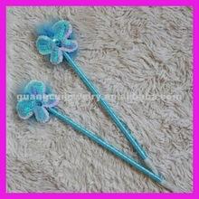 fashion plush wedding butterfly pen