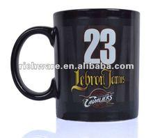 LeBron James basketball sport ceramic mug