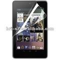 2012 yüksek net Anti- parmakizi tutmayan ekran koruyucusu Google Nexus 7inç tablet