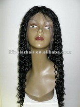 Wholesale Full lace wig human hair 22 inch water curly