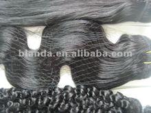 malaysian human hair weaving natural black body wave