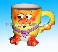 3D animal ceramic coffee mugs colour