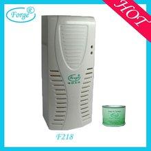 Fan type toilet air freshener