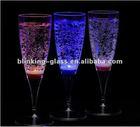 LED Champagne glasses