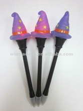 Witch Purple Gift LED Pen Halloween Lighted Pen