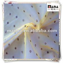 polyester glitter fabric dot design