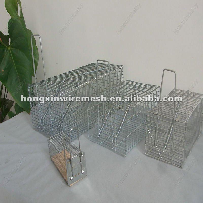 Rata de la jaula trampa catcher ratas roedores humane vivo - Trampas para ratones vivos ...